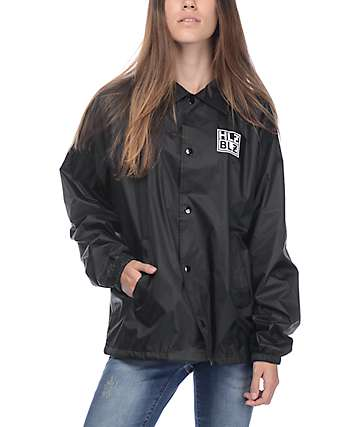 Hellz Bellz F*ck Boys Black Coaches Jacket