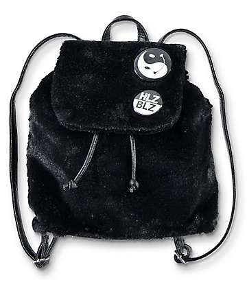Hellz Bellz Fur Get About It Mini Backpack