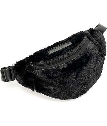 Hellz Bellz Fur Get You Faux Fur Fanny Pack