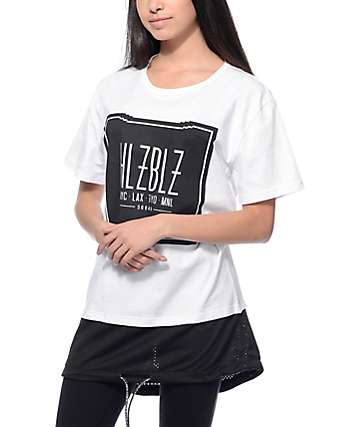Hellz Bellz HLZBLZ Squad Mesh White T-Shirt