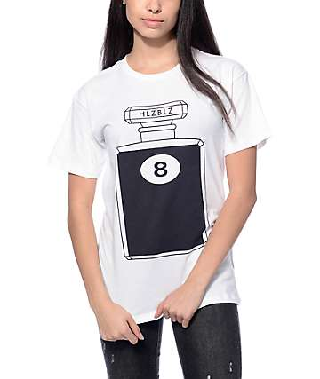 Hellz Bellz Magic 8 White T-Shirt