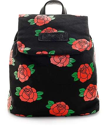 Hellz Bellz Roses Are Red mochila mini