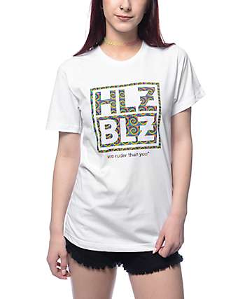 Hellz Bellz To Die For White T-Shirt