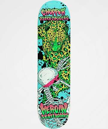 "Heroin Skateboards Chopper Vicious Nature 8.0"" Skateboard Deck"