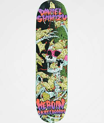 "Heroin Skateboards Shimizu Vicious Nature 8.125"" Skateboard Deck"