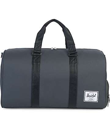 Herschel Novel Dark Shadow Black 42.5L Duffle Bag