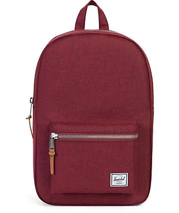 Herschel Settlement Winetasting burgundy 17L Backpack