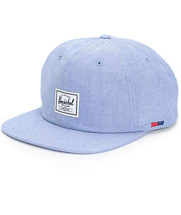 Herschel Supply Albert Chambray Strapback Hat
