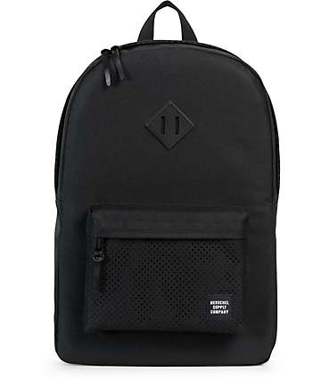 Herschel Supply Aspect Heritage Black 21.5L Backpack