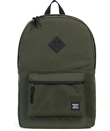 Herschel Supply Aspect Heritage Forest Night & Black 21.5L Backpack