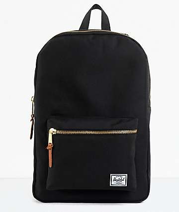 Herschel Supply Black Settlement 20L Backpack