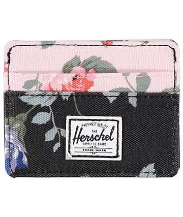 Herschel Supply Charlie Floral Cardholder Wallet