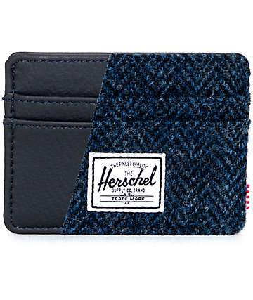 Herschel Supply Charlie Harris Tweed Cardholder Wallet