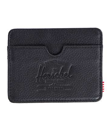 Herschel Supply Charlie Leather Cardholder Wallet
