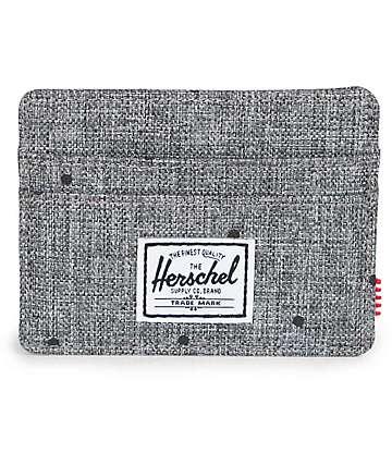 Herschel Supply Charlie Scattered Raven Crosshatch Wallet