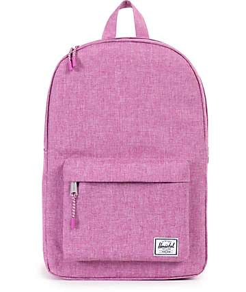 Herschel Supply Classic Fuchsia Crosshatch 13L Backpack