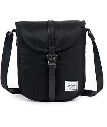 Herschel Supply Co Kingsgate Black Crossbody Bag