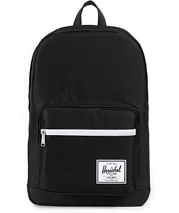 Herschel Supply Co Pop Quiz Mid 600 D Black Backpack