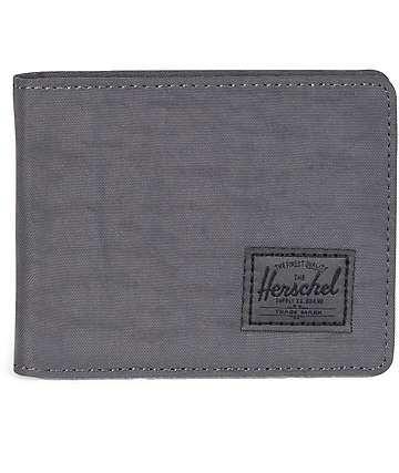 Herschel Supply Co Roy Dark Shadow Nylon Bifold Wallet