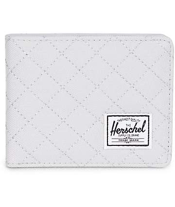 Herschel Supply Co Roy Lunar Rock Quilted Bifold Wallet