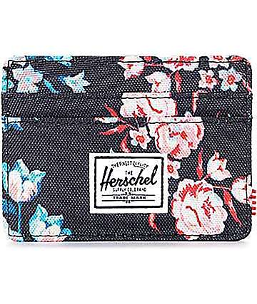 Herschel Supply Co. Charlie Floral Cardholder Wallet