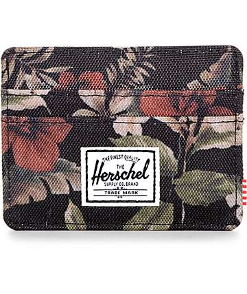 Herschel Supply Co. Charlie Hawaiian Camo Cardholder