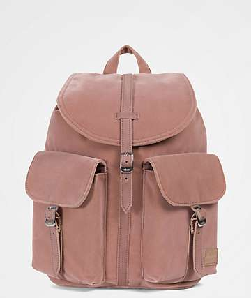 Herschel Supply Co. Dawson Ash Rose Velvet 13L Mini Backpack