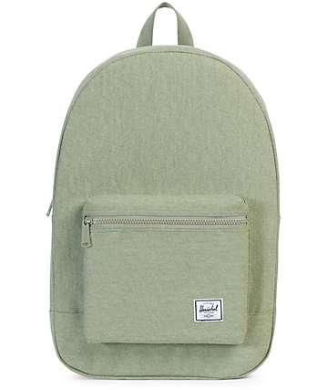 Herschel Supply Co. Daypack mochila en verde oscuro