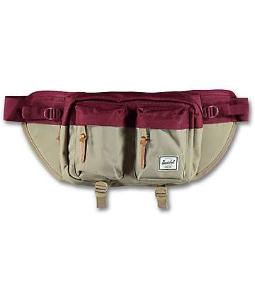 Herschel Supply Co. Eighteen Brindle & Windsor Wine Fanny Pack