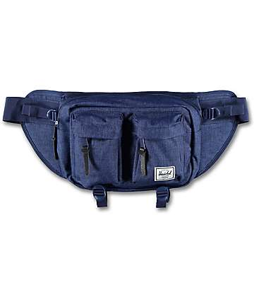 Herschel Supply Co. Eighteen Eclipse Crosshatch Fanny Pack