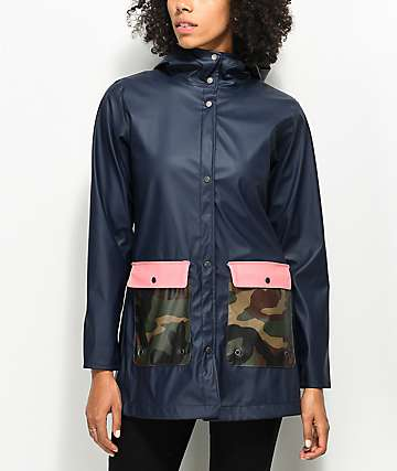 Herschel Supply Co. Forecast Navy & Camo Parka