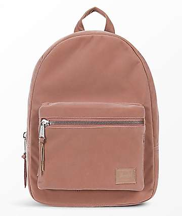 Herschel Supply Co. Grove XS Ash Rose Velvet Mini Backpack