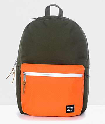 Herschel Supply Co. Harrison Forest Night & Orange 17L Backpack