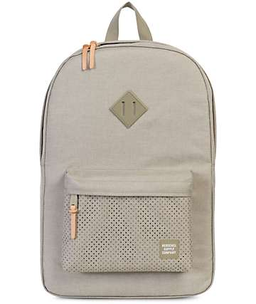 Herschel Supply Co. Heritage Aspect Dark Khaki Crosshatch 21.5L Backpack