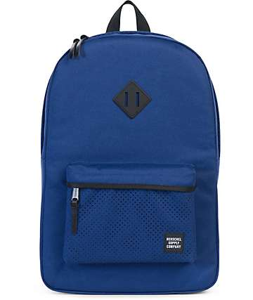 Herschel Supply Co. Heritage Aspect Twilight Blue & Black 21.5L Backpack