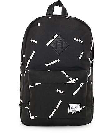 Herschel Supply Co. Heritage Black Code 21.5L Backpack