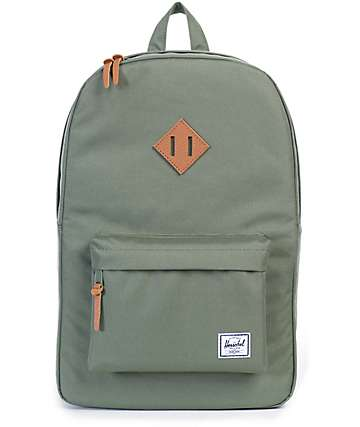 Herschel Supply Co. Heritage Lichen Green 21.5L Backpack