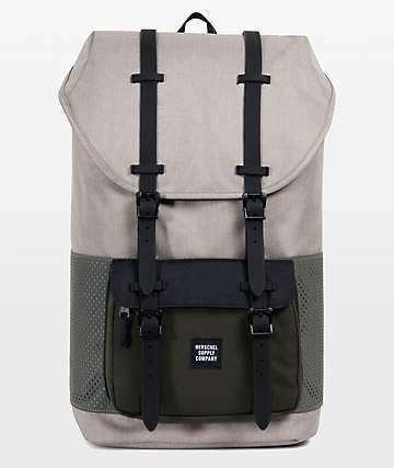 Herschel Supply Co. Little America Aspect Light Khaki Forest Night 25L Backpack