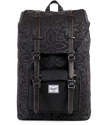 Herschel Supply Co. Little America Black Khatam 17L Backpack