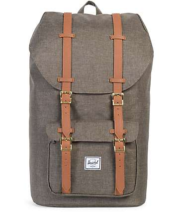 Herschel Supply Co. Little America Canteen Crosshatch Backpack