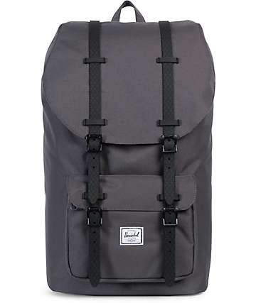 Herschel Supply Co. Little America Charcoal 25L Backpack