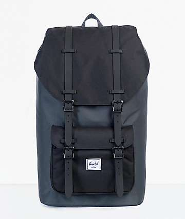 Herschel Supply Co. Little America Dark Shadow & Black 25L Backpack
