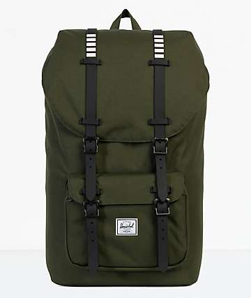 Herschel Supply Co. Little America Forest Night 25L mochila