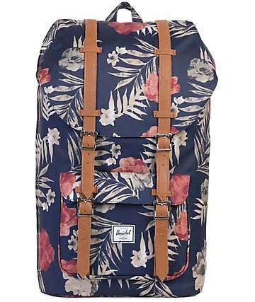 Herschel Supply Co. Little America Peacoat Floria Backpack