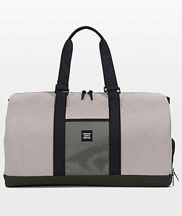 Herschel Supply Co. Novel Aspect Light Khaki & Forest Duffle Bag