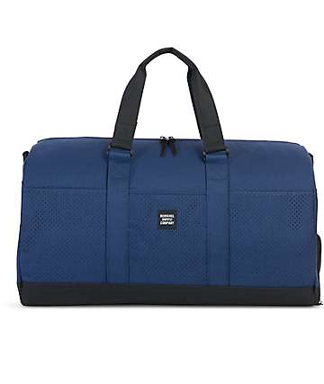 Herschel Supply Co. Novel Aspect Twilight 42.5L Blue & Black Duffle Bag