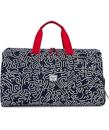 Herschel Supply Co. Novel Peacoat Keith Haring 42.5L bolso barrel