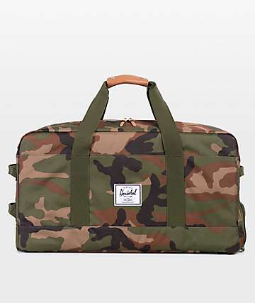 Herschel Supply Co. Outfitter Woodland Camo Duffle Bag