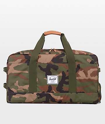 Herschel Supply Co. Outfitter Woodland Camo Duffle Bag