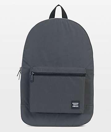 Herschel Supply Co. Packable Daypack 24.5L mochila negra reflectante